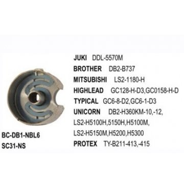 Thoi máy may 1 kim điện tử ổ nhỏ BC-DB1-NBL6 / SC31-NS